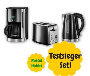 Frühstücksset Kaffeemaschine Toaster Wasserkocher Eierkocher