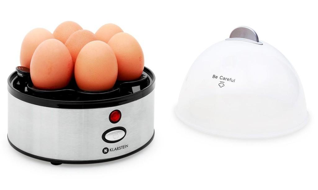 Der Klarstein 4 in 1 kommt mit Eierkocher