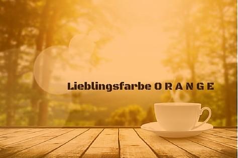 Frühstücksset Kaffeemaschine Toaster Wasserkocher Orange