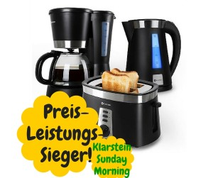 Klarstein Sunday Morning 3 in 1 Frühstücks-Set