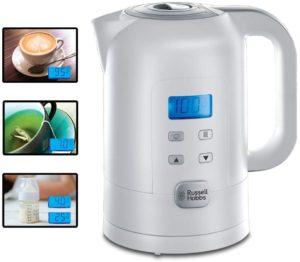 Wasserkocher mit Temperaturanzeige