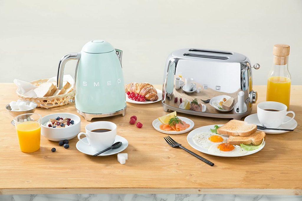 Wasserkocher Toaster Set in einem